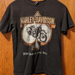 Vintage Harley Davidson t-shirt med Ohio